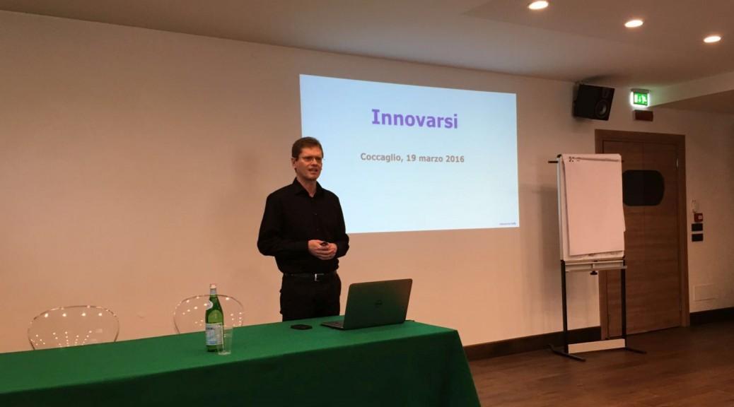 Antonio De Bellis - Seminario Innovazione