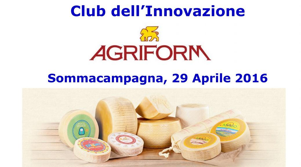 Agriform - Incontro Club dell'Innovazione 29 Aprile_2016